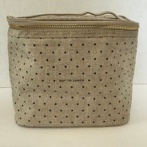 Kate Spade Out To Lunch Polka Dot Lunch Bag